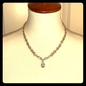 Nordstrom Cubic Zirconia Grand Necklace